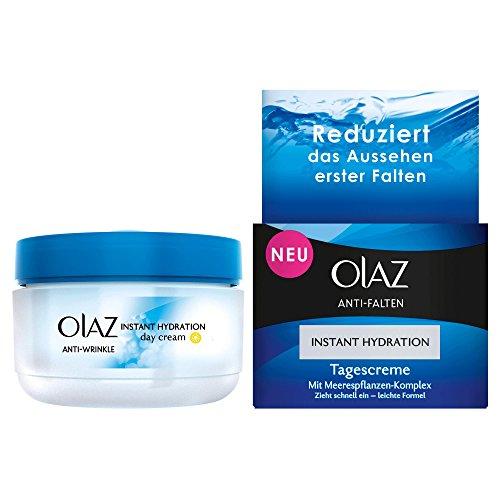 Olaz Anti-Falten Instant Hydration Tagescreme Anti-Aging Hautpflege, 1er Pack (1 x 50 ml)
