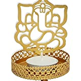 Ganpati Shadow Lamps Tealight Candle Holder Stand For Pooja And Decoration