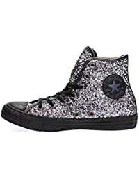 Converse Star Hi Glitter - Zapatillas abotinadas Mujer