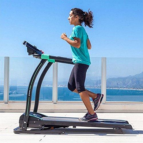 Tapis de course pliable 5 vitesses 14km/h Pro gym fitness