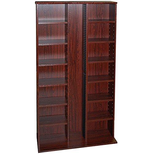 st-laurence-355-cd-130-dvd-blu-ray-media-storage-shelves-mahogany