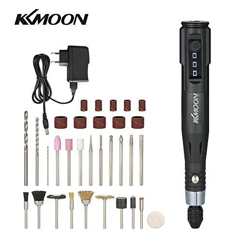 KKmoon 30 Watt Mini Elektrische Grinder Bohrer Werkzeug Gravierstift Schleifen Fräsen Polierwerkzeuge