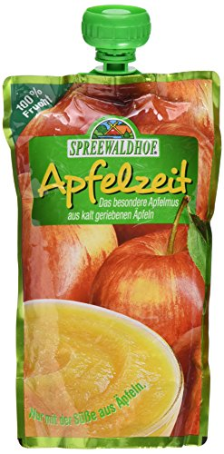 Spreewaldhof Kalt geriebenes Apfelmus, 350 g Beutel