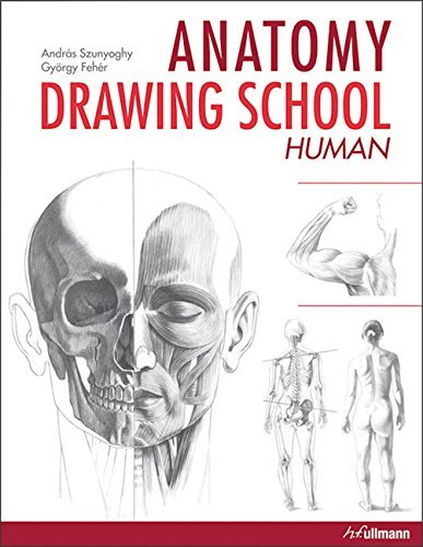 Portada del libro Anatomy Drawing School: Human Anatomy by Andras Szunyoghy (2013-10-15)