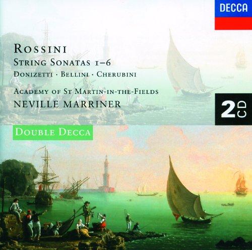 Rossini: 6 String Sonatas/Donizetti/Cherubini/Bellini (2 CDs)