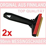 L&P Car Design A053-2_A054-2, Ice Scraper Brass Original Murska Finland Best Icescraper (Automotive)