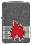 Best BIC Lighter Fluids - Zippo Unisex's Red Vintage Wrap Windproof Lighter, Iron Review
