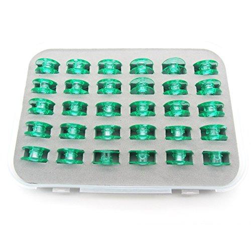 kunpeng-Box von 30Stück # 4125615-45klar grün Spulen Fit für Viking Husqvarna weiß HOME