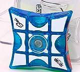 Ousdy QiYi MoFangGe Juguete Fidget Spinner Puzzle Mágico MFG2046 Libera Tensión Entrenamiento Enfoque EDC Stress Relief Toy (Agua)