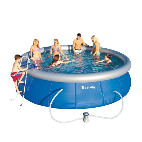 Bestway 57127GS Fast Pool Set mit Filterpumpe GS, 457 x 107 cm