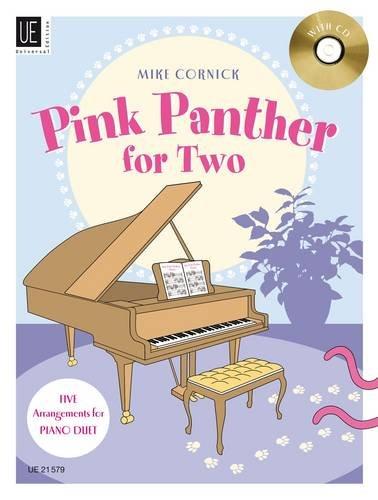 Pink Panther for Two: Fünf beschwingte Evergreens in mittlerem Schwierigkeitsgrad. für Klavier zu 4 Händen mit CD. Ausgabe mit CD.