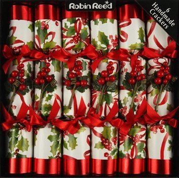 Weihnachtsknallbonbons (Knallbonbon) - Set of 6 Winter Berry Traditional Christmas Crackers by Robin Reed (12