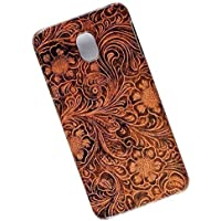 Slim Case for Samsung Galaxy J5 (2017), J530, Pro, Duos Tasche Cover. Tooled Leather Look.