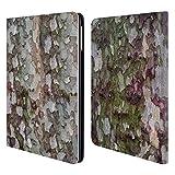 Head Case Designs Offizielle PLdesign Camouflage Rinde Holz Und Rost Drucke Brieftasche Handyhülle aus Leder für iPad Air (2013)