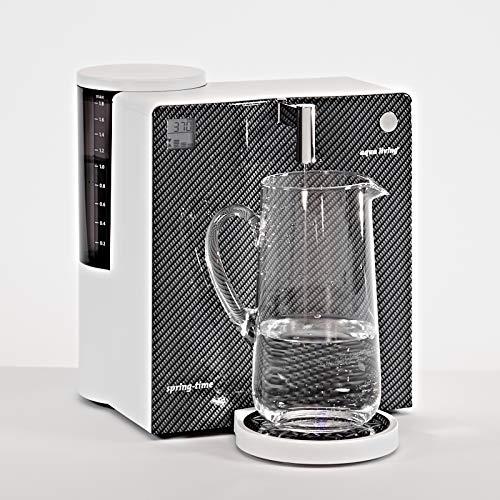Mobiler Wasserfilter Aqua Living Springtime 420 Carbonoptik Umkehrosmose-Technik - ein Angebot von WELCON