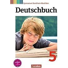 Deutschbuch Gymnasium - Nordrhein-Westfalen: 5. Schuljahr - Schülerbuch