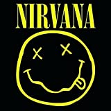 Nirvana Smiley Face Black Greeting Birthday Card Any Occasion Album Official