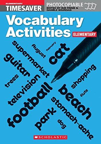 Timesaver, Vocabulary Activities (Elementary)