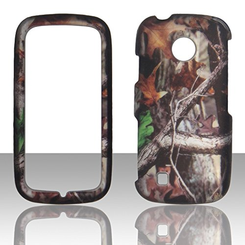 2D Camo Trunk V LG Cosmos Touch, stimmten, VN270, MN270Verizon Schutzhülle Handy Hard Cover Fall Blenden (Verizon Handys Wireless Lg)