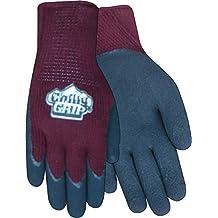 Rojo guante de dirigir Chilly agarre a311bg Mujer de peso pesado thermal-lined espuma guantes de látex