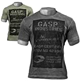 GASP Broad Street Print Tee - Fitness und Workout T-Shirt