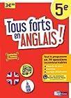 Tous forts en Anglais 5e - Nouveau programme 2016