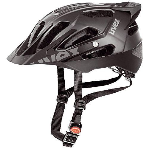 Uvex Quatro Pro - Casco de ciclismo para hombre, color negro mate
