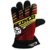 #5: SCOYCO MOTORCYCLE RIDING GLOVES By AllExtreme RED COLOUR BIKING & RACING
