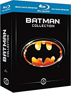 Batman : l'anthologie des films 1989-1997 [Blu-ray]