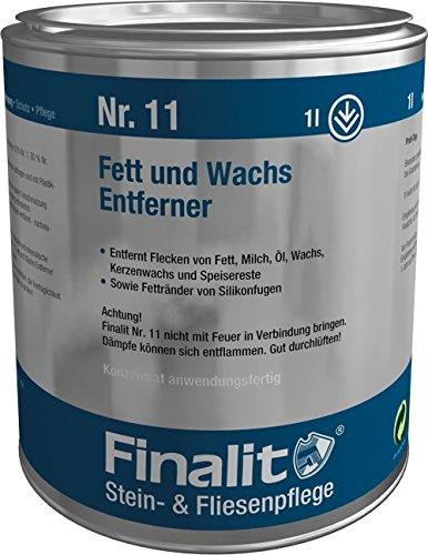Finalit Fett und Wachs Entferner, 1 L, Nr. 11 (Elf Wachs)