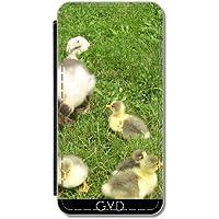Custodia in PU Pelle per Samsung Galaxy A5 2016 (SM-A510) - Cuccioli Carino, Piccole Anatre by Marina Kuchenbecker