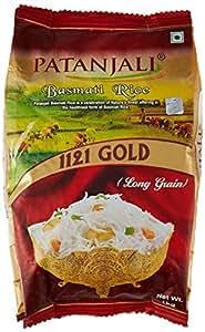 Patanjali Basmati Rice, Gold, 1kg