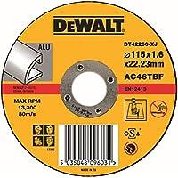 Dewalt DT42260-XJ - Disco abrasivo para cortar aluminio plano, 1 unidad
