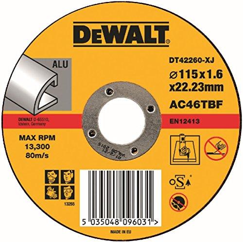 DeWalt DT42260-XJ Trennscheibe 115 x 22.2 x 1.6 mm Typ 1