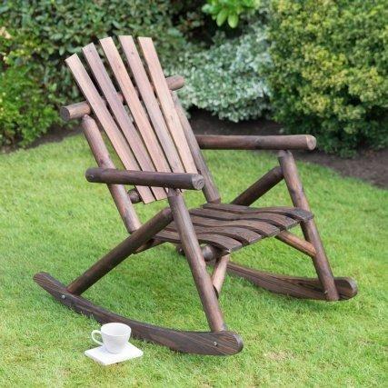 Holz Traditionell hergestellt Rocker B68x D94X Höhe 100cm Stuhl (ca.) Stuhl