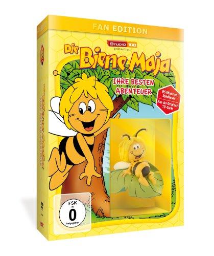 Die Biene Maja - Ihre besten Abenteuer - Fan Edition (+ Biene Maja Sammelfigur)