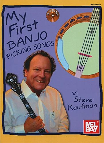 My First Banjo Picking Songs: Noten, CD, Sammelband für Banjo