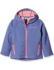 Columbia Boy 's Cascade Ridge Soft Shell Top), Niños, color Bluebell, tamaño XXS