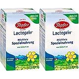 Poterie Lactopriv, régime spécial sans lait, de la naissance, 4-pack (4 x 600 g)