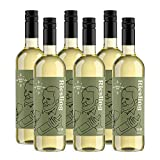 Marca Amazon - Compass Road vino riesling, Qualitätswein - 6 botellas de 750 ml