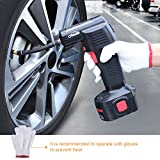 Oasser Tyre Inflator Air Compressor Car Tyre Pump Electric Portable with Digital LCD Rechargeable Li-ion 12V P2