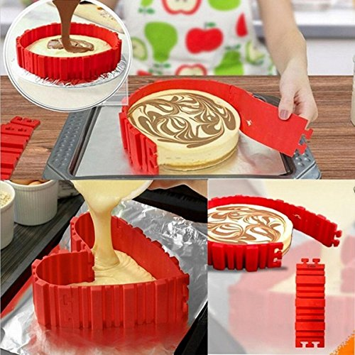 Cpixen-Nonstick-Rubber-Baking-Mould-Tool-Red-Set-of-4