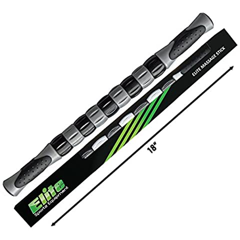 Muscle Roller Stick - Best Seller for Instant Relief of Cramping,Tightness and Soreness in the Legs after Exercise. For Fast Leg Recovery, Stretch Out Your Muscles Before and After Exercise.