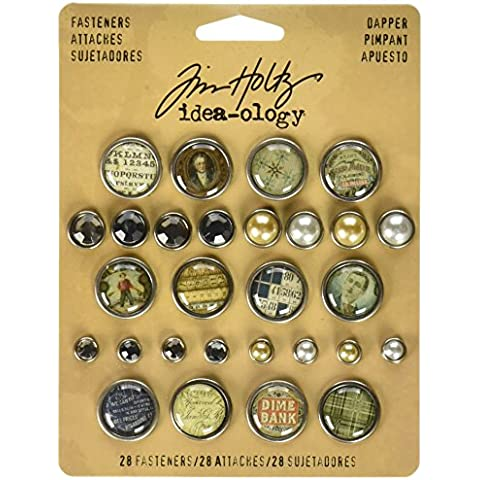 Advantus Idea-Ology–Cierres de Brad Dapper epoxi superior, Gem y perlas, otros, multicolor