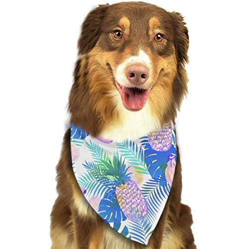 anas-Muster stilvolle Nette lustige Party-Mädchen-Jungen-Hundebandana modern ()