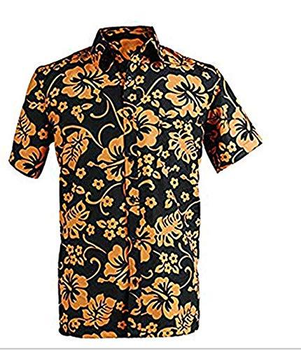 Herren Hemd Duke of Las Vegas T-Shirt Hemd Cosplay Kostüm (Fear And Loathing Kostüm Shirt)
