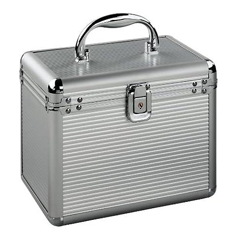 Hama CD-Koffer 120 inkl. Sleeves Aluminium