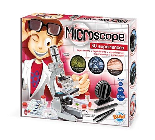 Buki France MS907B - Microscopio 30 esperimenti