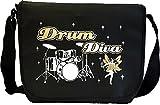 Drum Kit Diva Fairee - Sheet Music Document Bag Musik Notentasche MusicaliTee