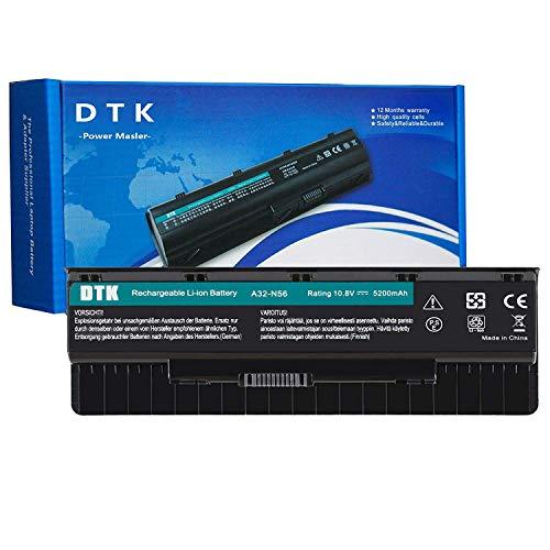 DTK A32-N56 Batterie pour Ordinateur Portable ASUS A31-N56 N56 N76 N56VM N56VZ N56VJ N76V N56V N76VZ F55 10.8V 5200mAh